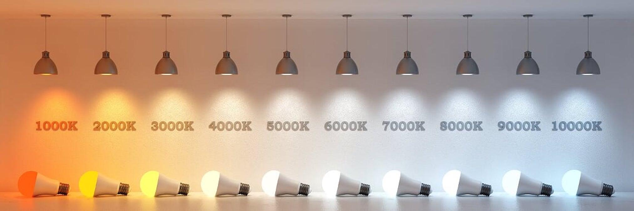 دمای رنگ نور یا Color Temperature