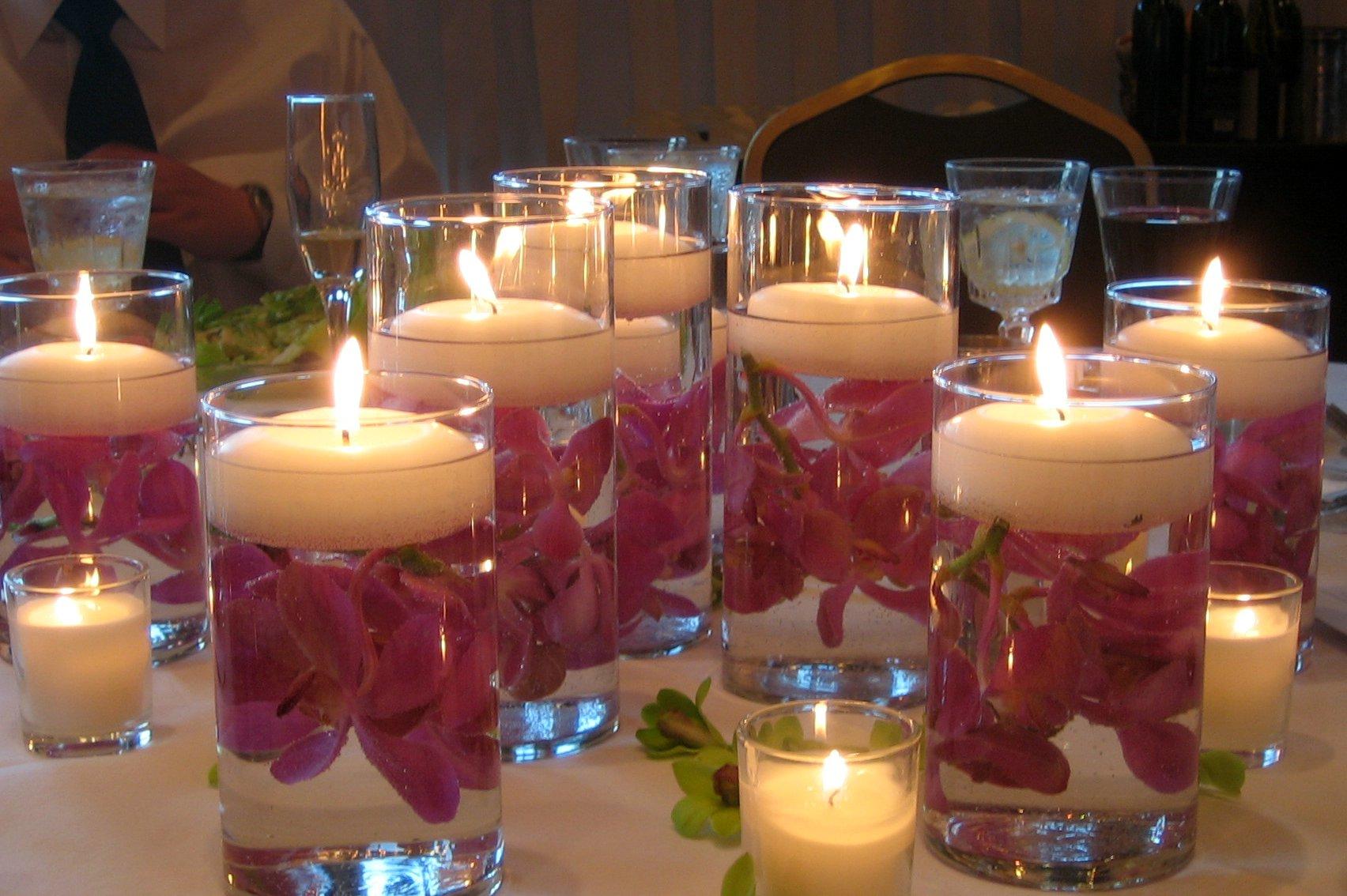 تزئینات شمع دکوراتیو