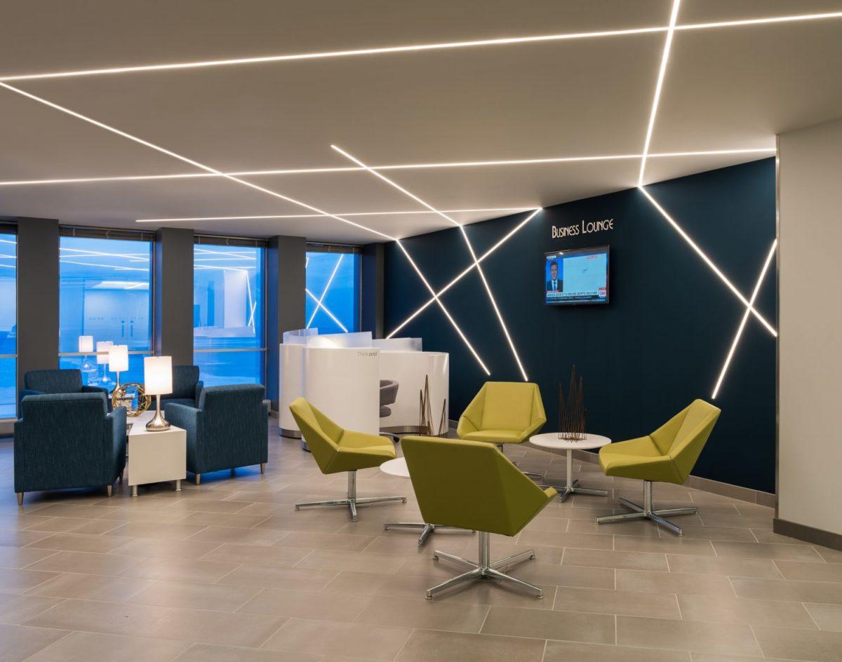 نورپردازی آفیس و محل کار